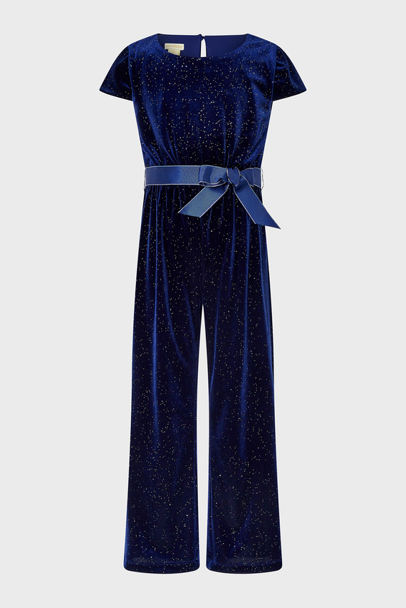 Детский темно-синий комбинезон GLITTER JUMPSUIT