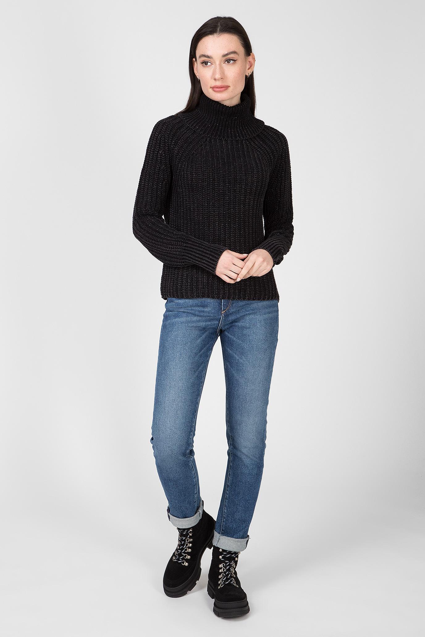 Женский черный свитер Replay
