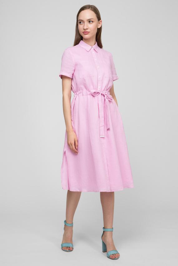 fa51a4e4a032d8e Женское розовое льняное платье-рубашка DAKOTA Tommy Hilfiger 5 890 грн 4  712 грн
