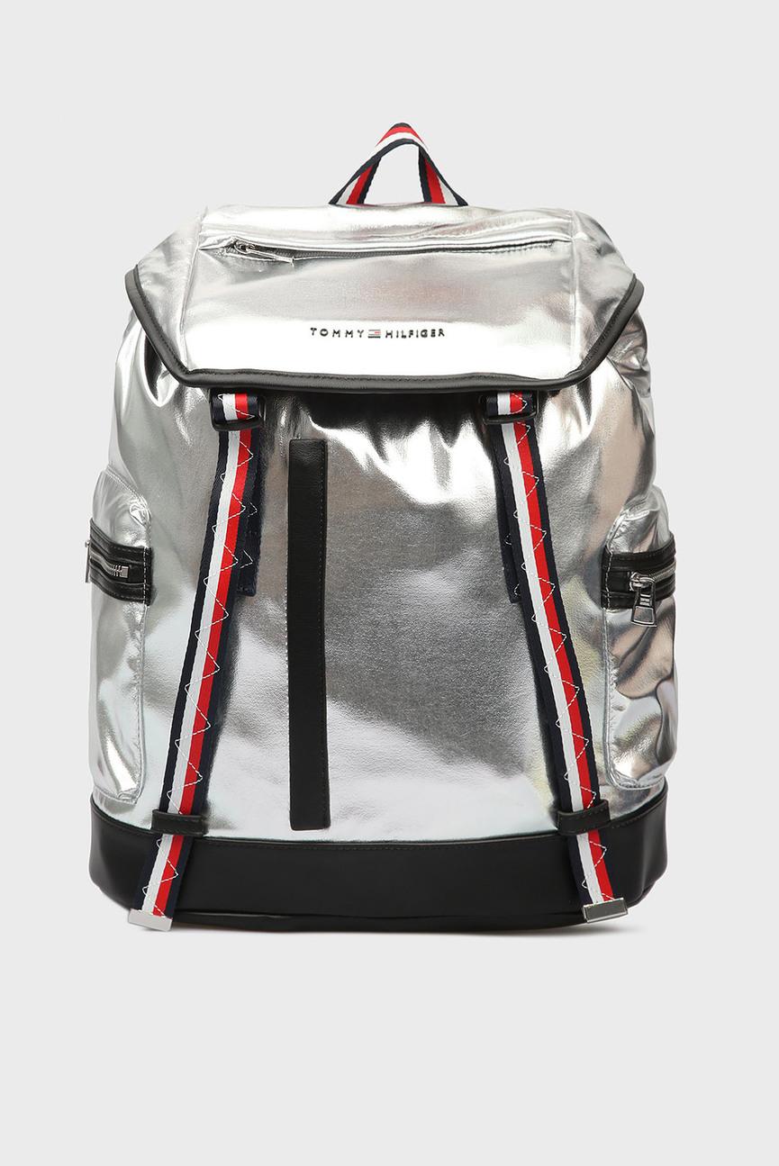 Мужской серебристый рюкзак TH EXPLORER
