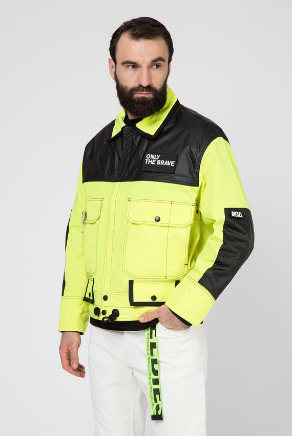 Мужская желтая куртка J-KENDY