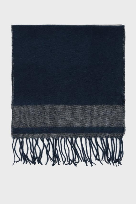 Мужской синий шарф SCURA