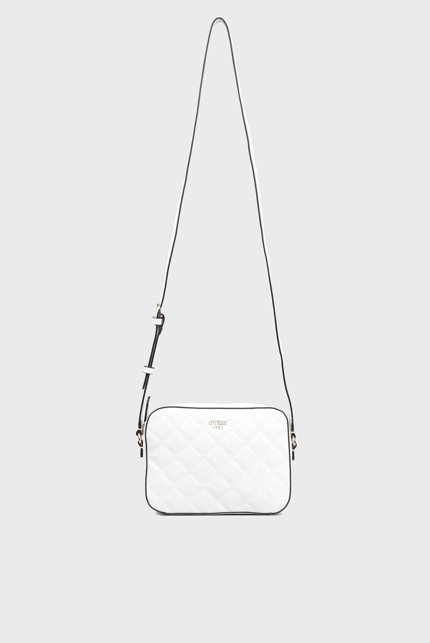 58e106e994b7 Купить Женская белая сумка через плечо Guess Guess HWGS6691120 – Киев,  Украина. Цены в интернет магазине MD Fashion