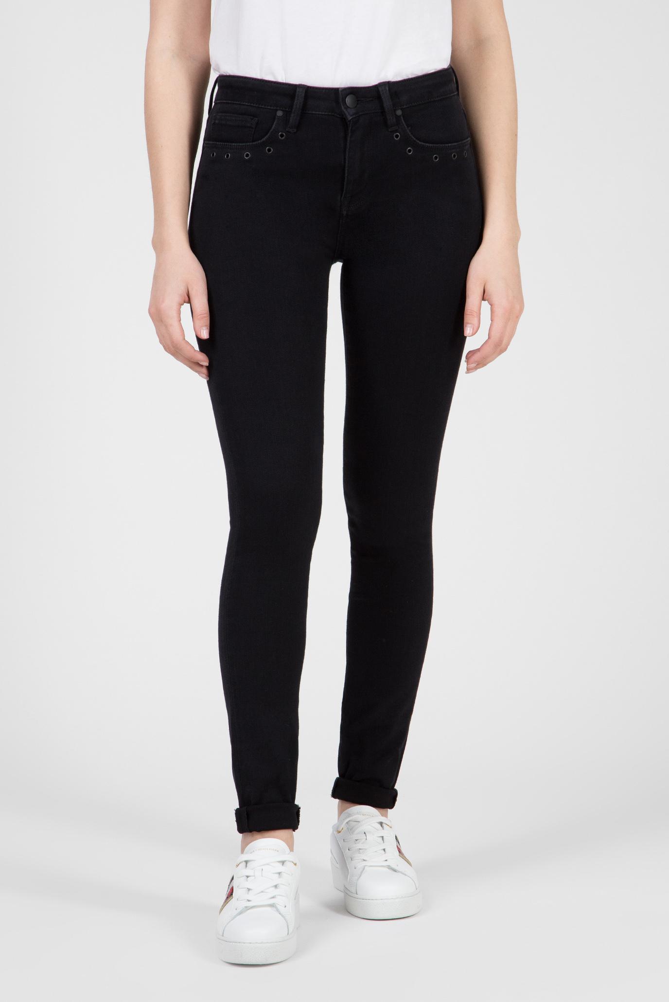 Купить Женские черные джинсы COMO RW PEGASUS Tommy Hilfiger Tommy Hilfiger WW0WW23843 – Киев, Украина. Цены в интернет магазине MD Fashion