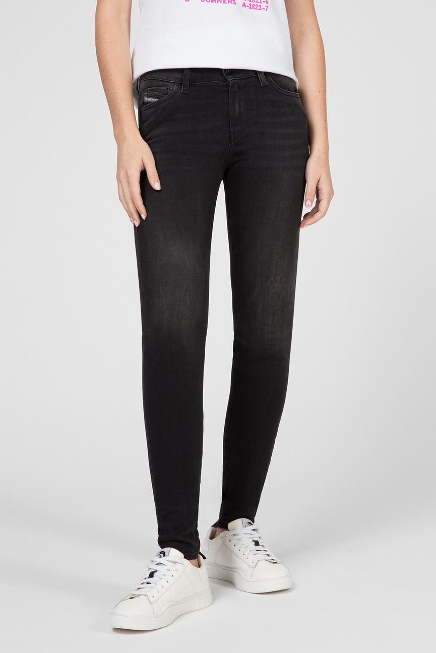 Женские темно-серые джинсы SLANDY