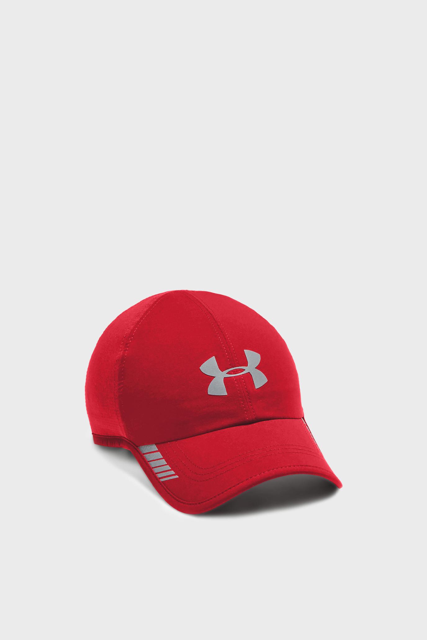 Мужская красная кепка Launch AV Cap Under Armour