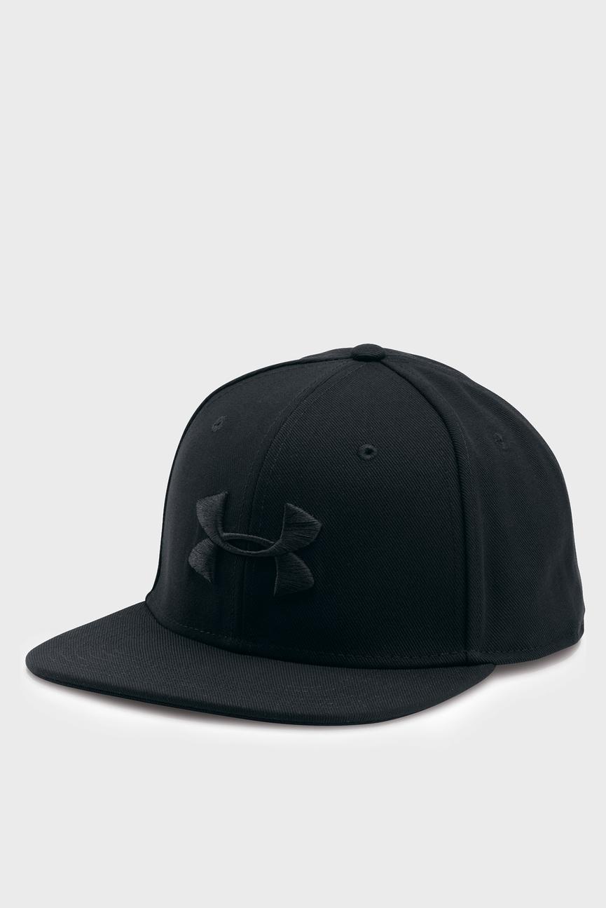 Мужская черный кепка Men's Huddle Snapback