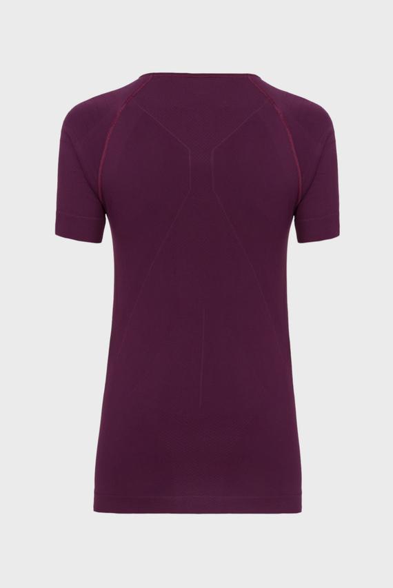 Женская фиолетовая термофутболка WARM