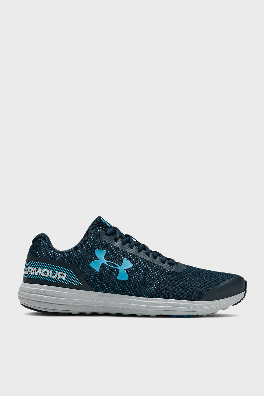 Детские синие кроссовки UA BGS Surge RN