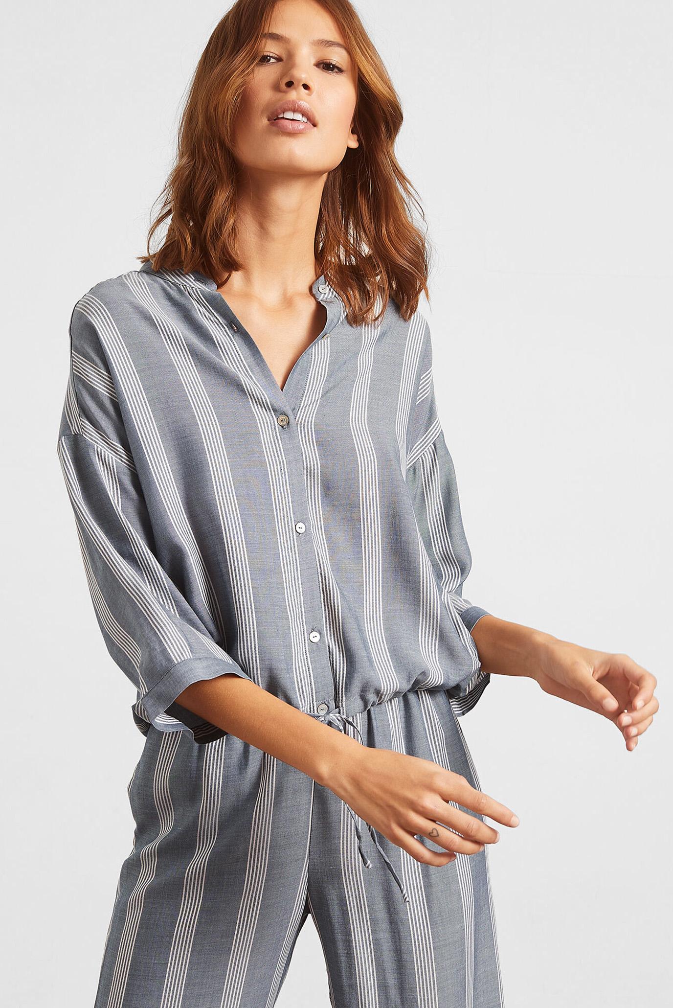 Женская синяя рубашка ANIL 1