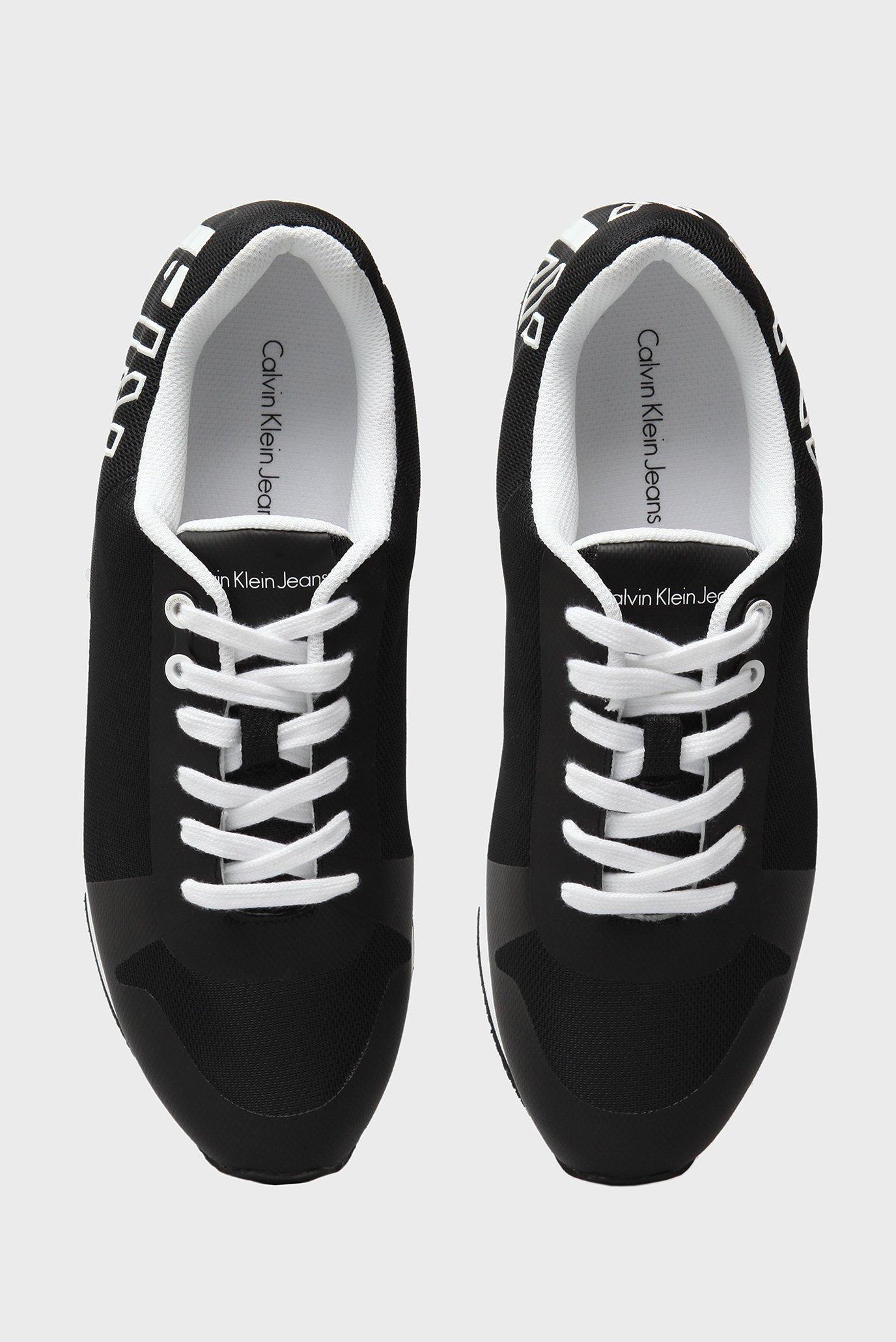 Купить Мужские черные кроссовки с напылением Calvin Klein Calvin Klein S1658 – Киев, Украина. Цены в интернет магазине MD Fashion