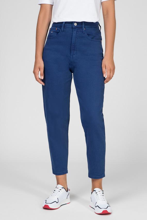 Женские синие джинсы HIGH RISE TAPERED TJ 2004 ESTBL