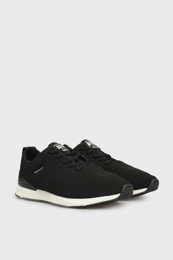 Мужские черные кроссовки BRENTOON