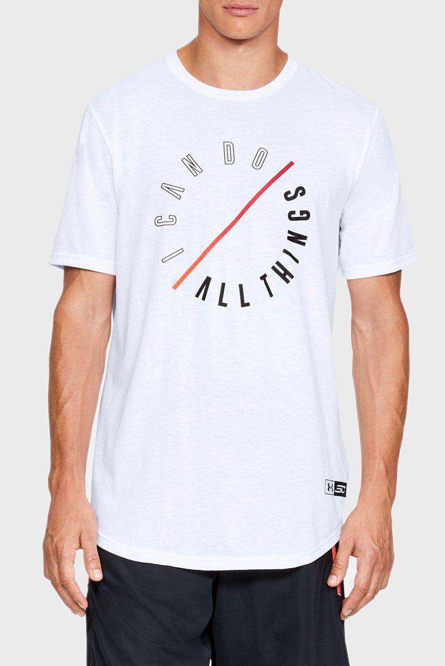 Мужская белая футболка SC30 ICDAT RTW Tee