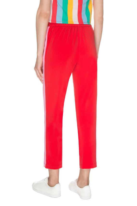 Женские красные брюки
