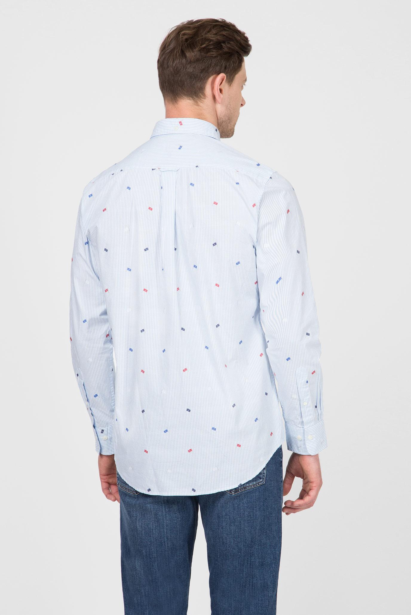 Купить Мужская голубая рубашка LM Gant Gant 3016930 – Киев, Украина. Цены в интернет магазине MD Fashion