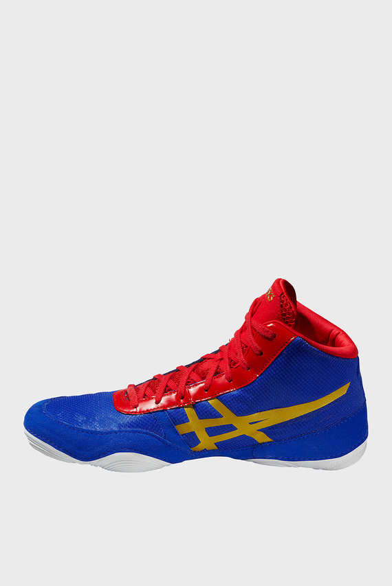 Мужские синие кроссовки для борьбы JB ELITE V2.0