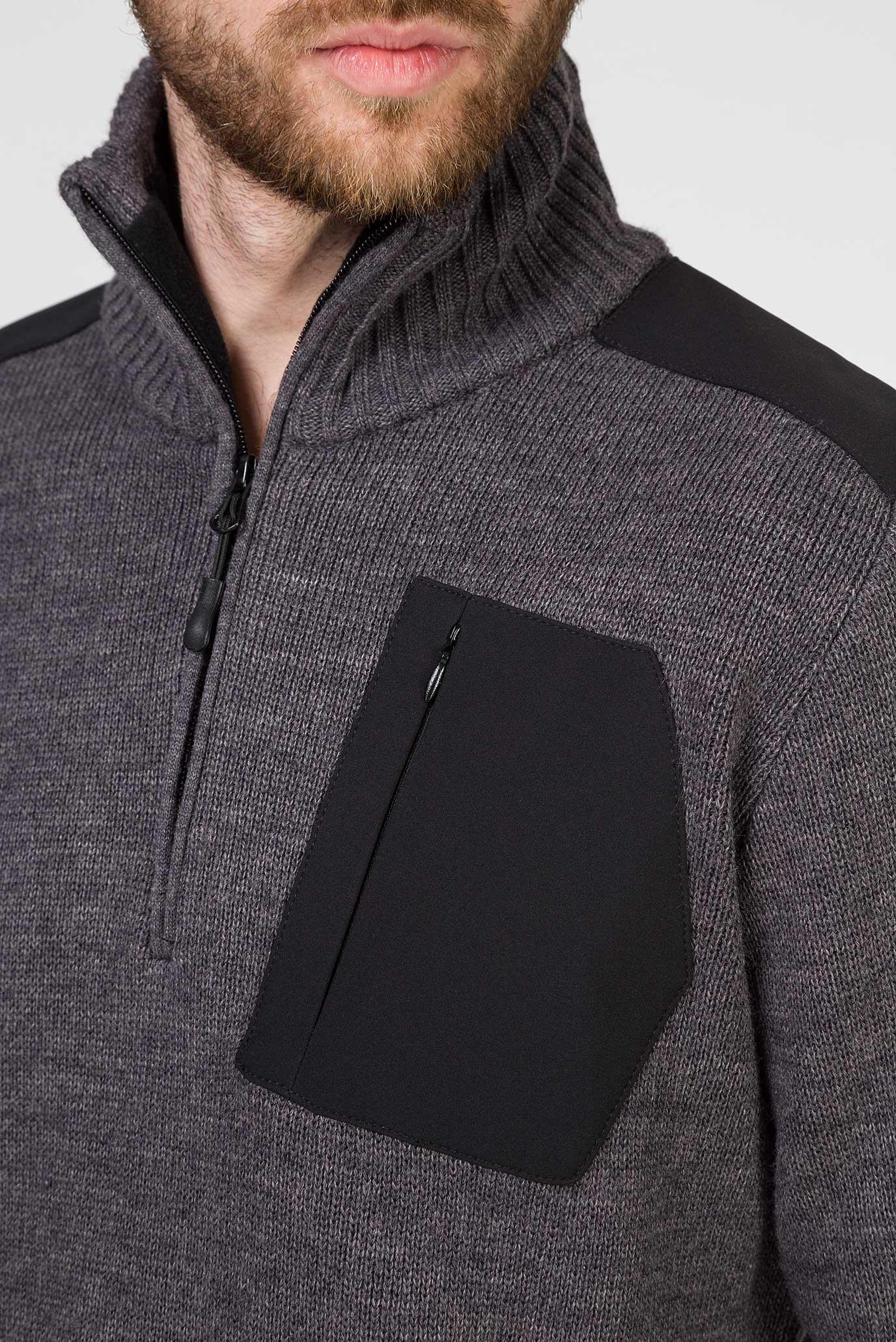 Купить Мужской темно-серый свитер CMP CMP 7H77806-U804 – Киев, Украина. Цены в интернет магазине MD Fashion