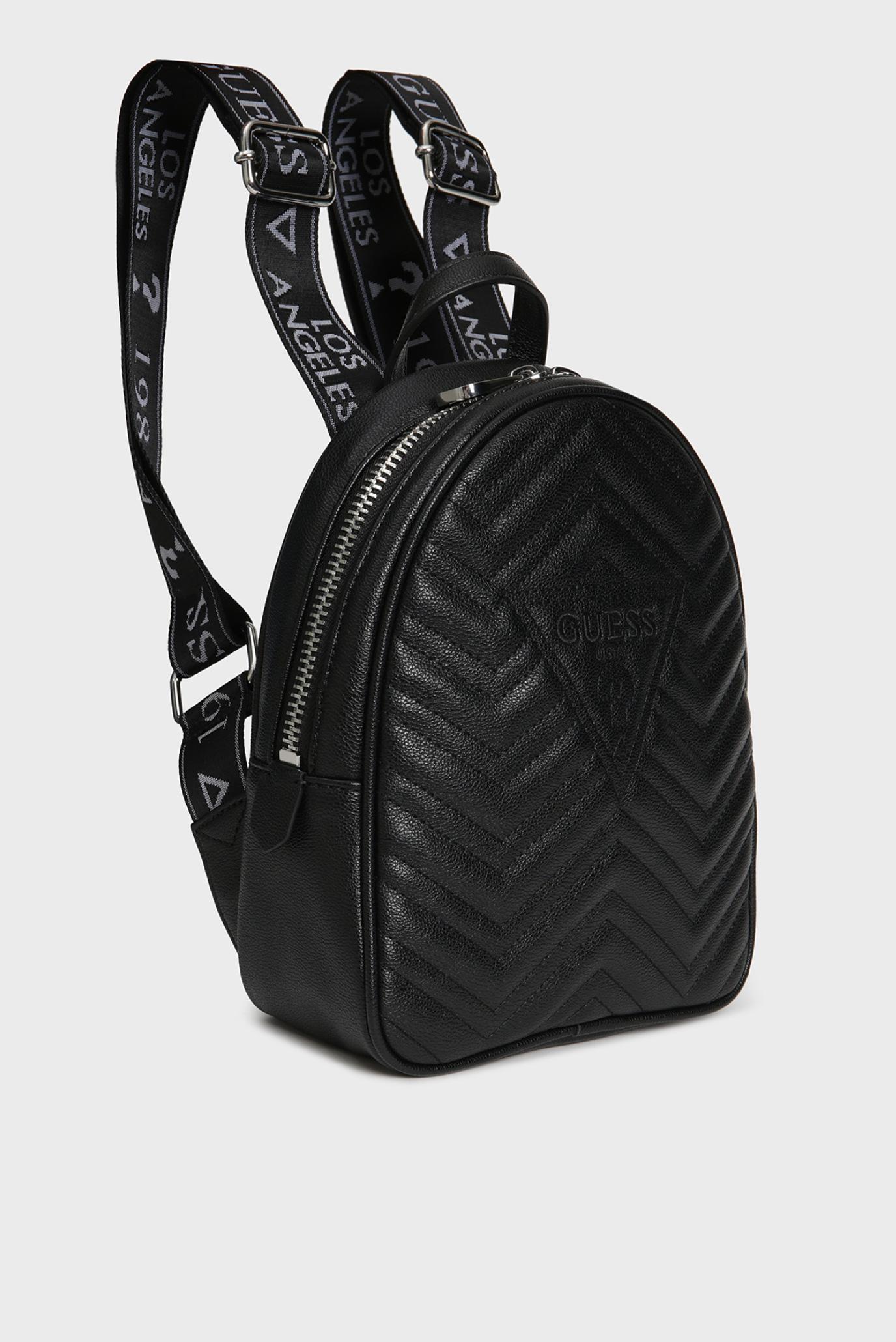 Женский черный рюкзак ZANA BACKPACK Guess