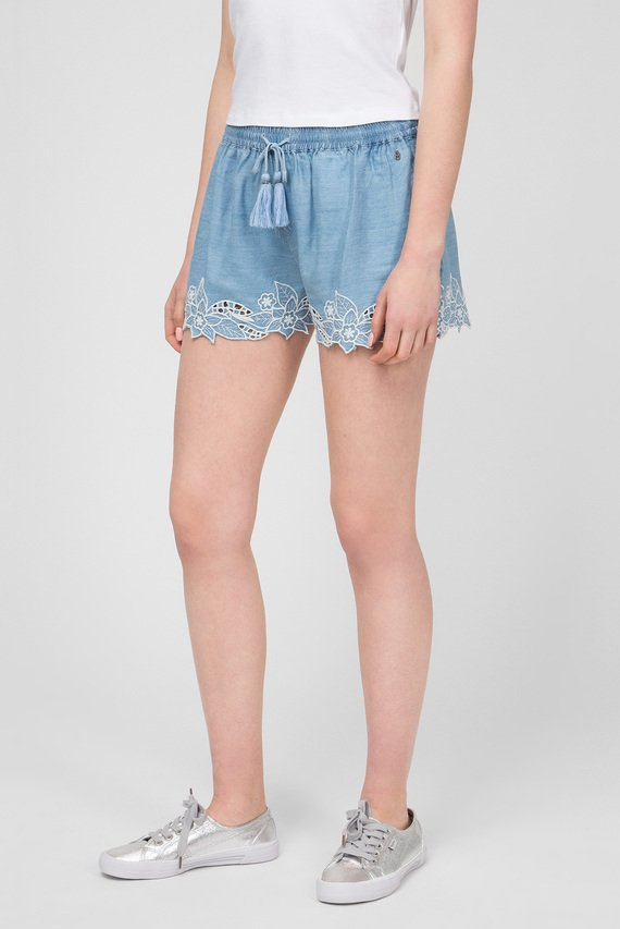 Женские голубые шорты ELVIRA
