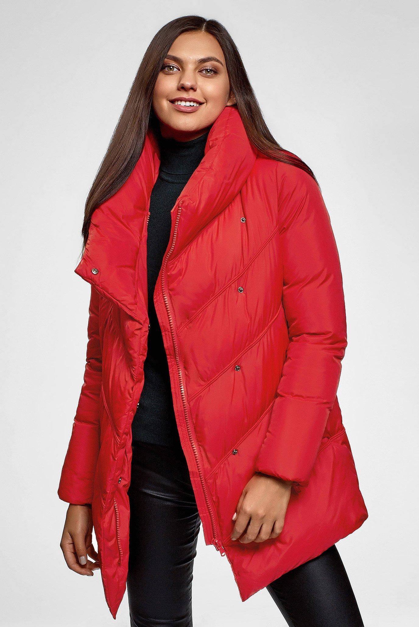 Жіноча червона куртка 1