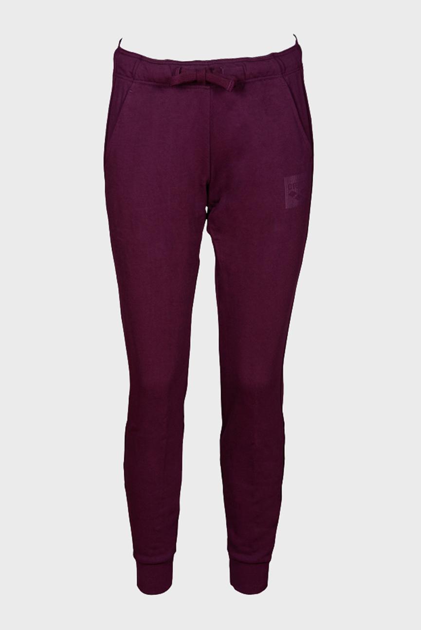 Женские бордовые спортивные брюки W ESSENTIAL PANT