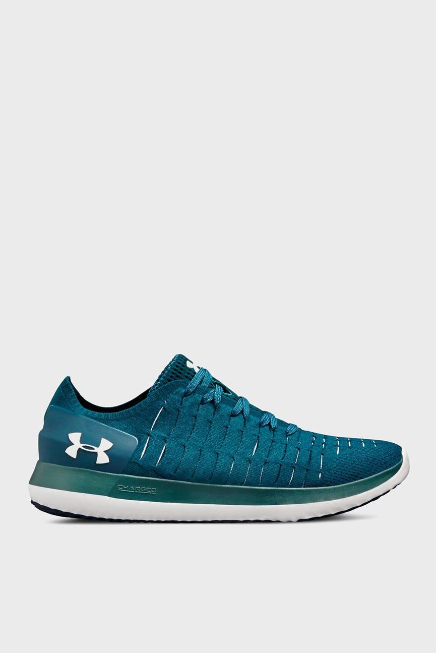 Мужские синие кроссовки UA Slingride 2