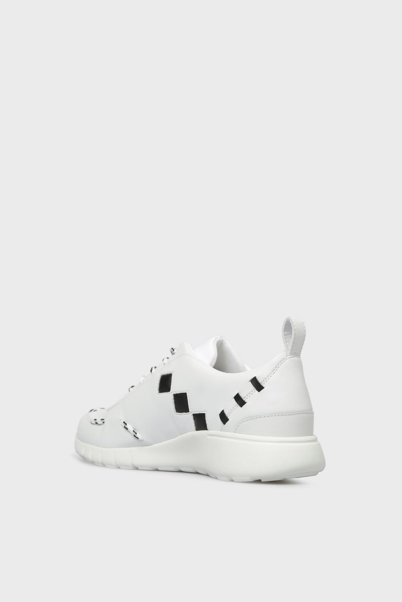 Купить Мужские белые кроссовки Trussardi Jeans Trussardi Jeans 9Y099999/77A00138 – Киев, Украина. Цены в интернет магазине MD Fashion