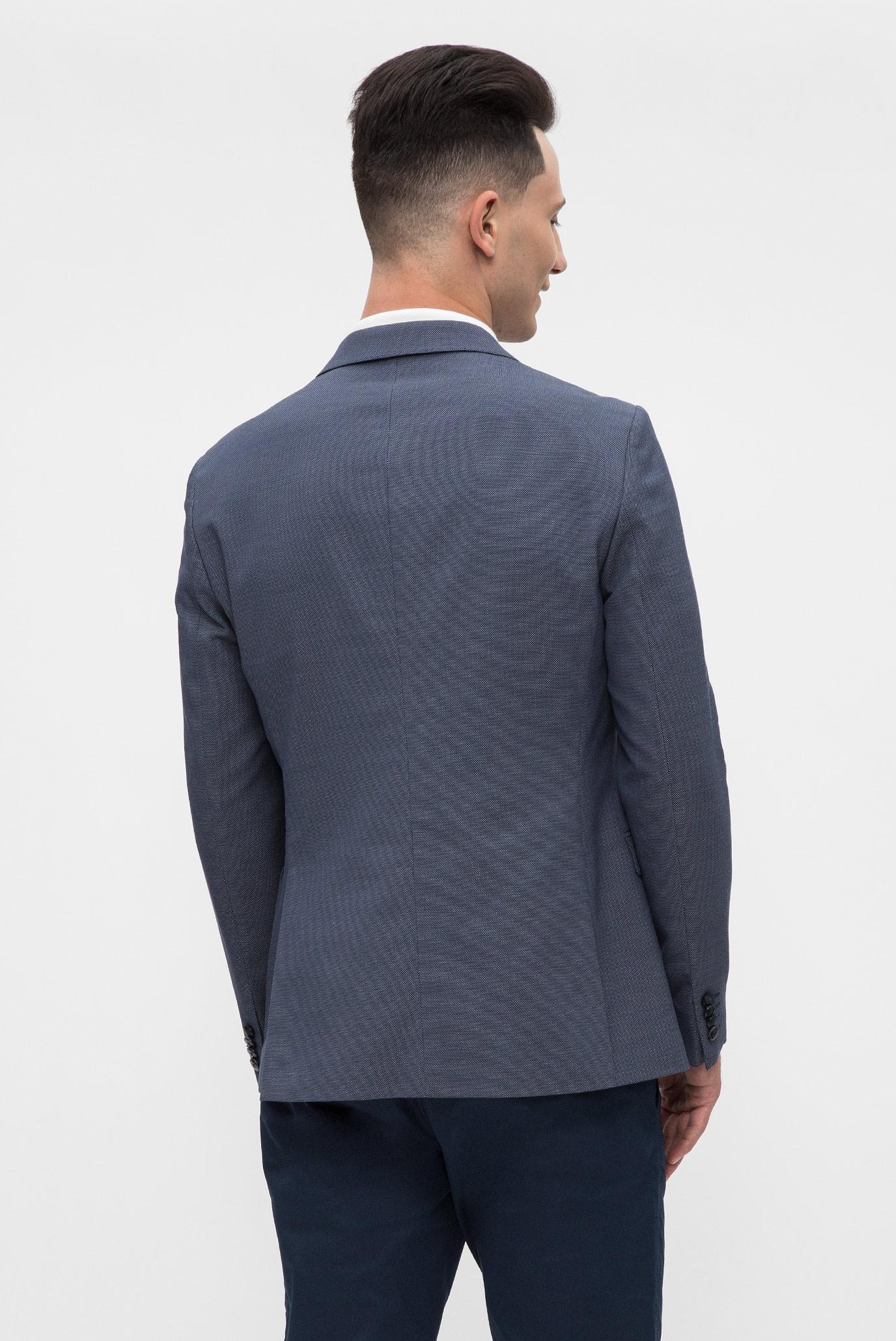 Купить Мужской темно-синий пиджак  Tommy Hilfiger Tommy Hilfiger TT0TT02815 – Киев, Украина. Цены в интернет магазине MD Fashion