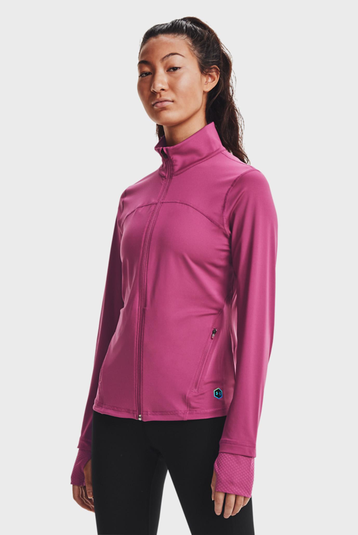 Женская розовая спортивная кофта RUSH FZ 1