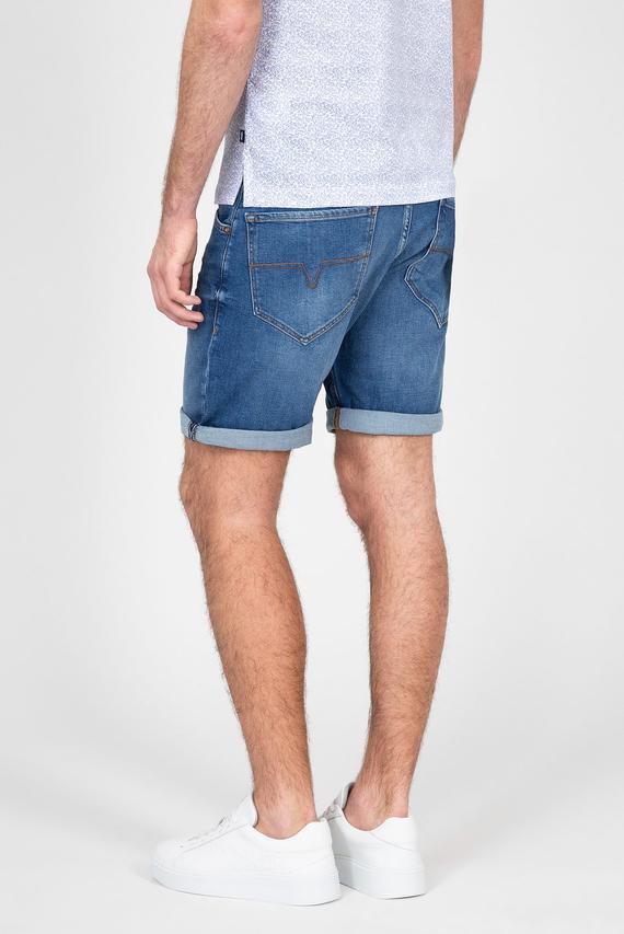 Мужские синие джинсовые шорты REECE