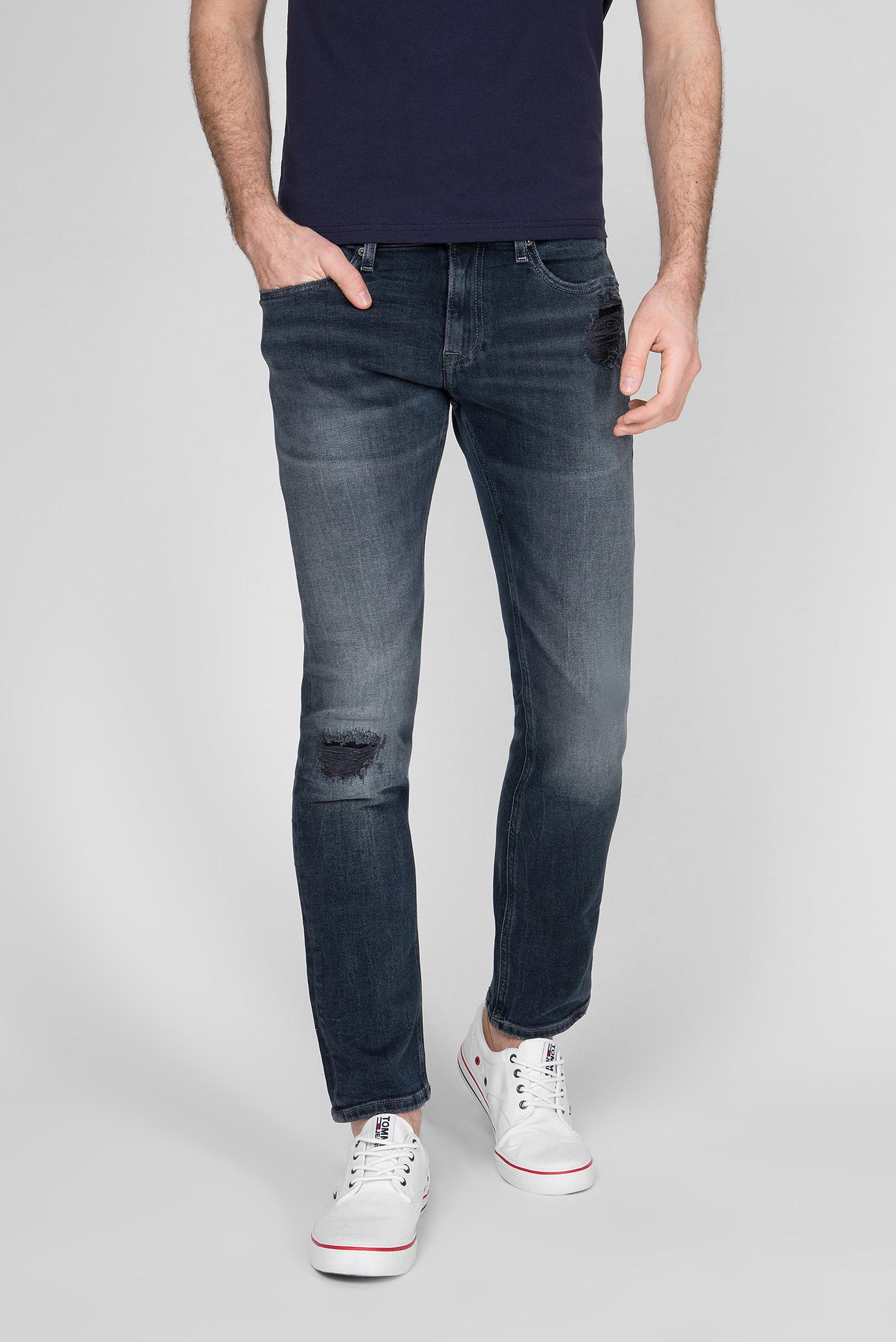 Мужские темно-синие джинсы SCANTON SLIM Tommy Hilfiger