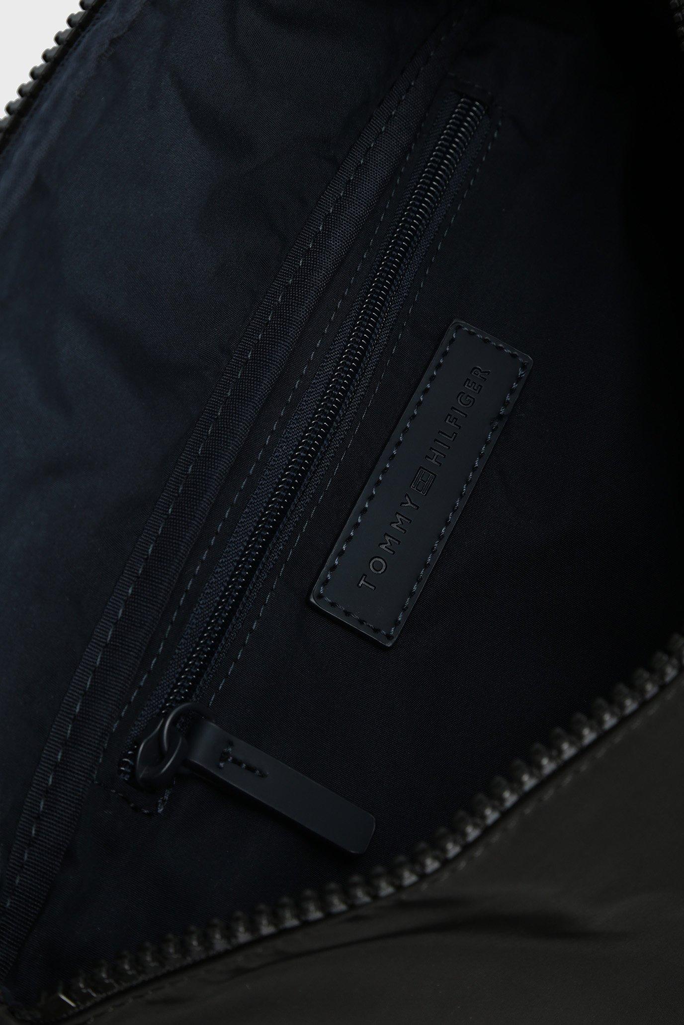 Мужская черная поясная сумка Tommy Hilfiger