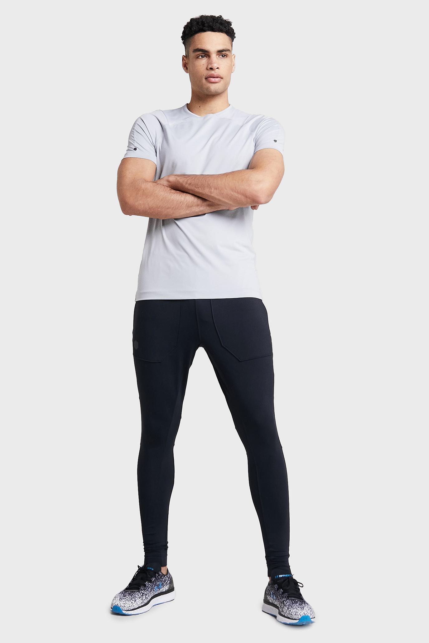 Купить Мужская светло-серая футболка UA Rush SS Under Armour Under Armour 1327641-011 – Киев, Украина. Цены в интернет магазине MD Fashion