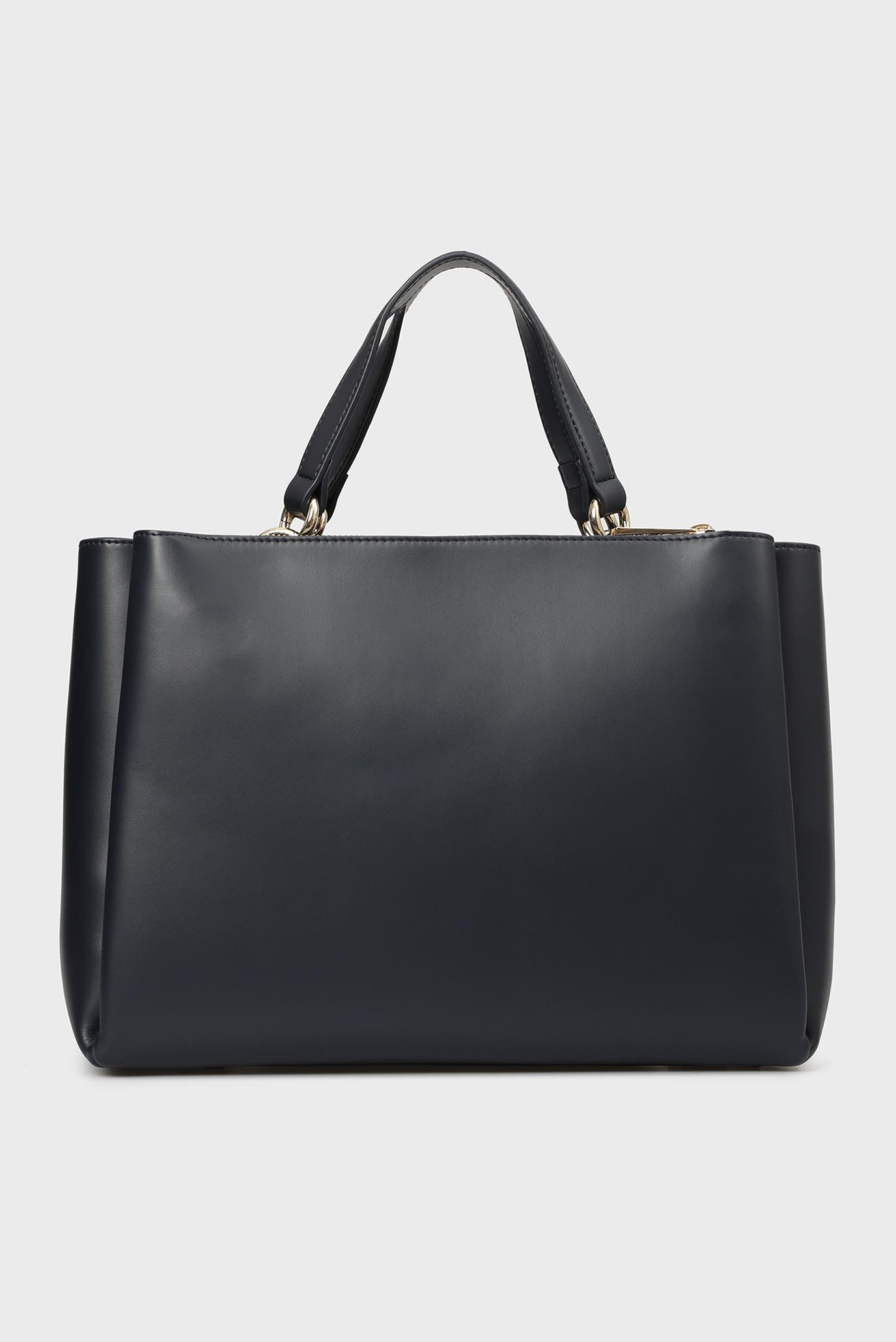 Купить Женская темно-синяя сумка на плечо EFFORTLESS Tommy Hilfiger Tommy Hilfiger AW0AW05646 – Киев, Украина. Цены в интернет магазине MD Fashion