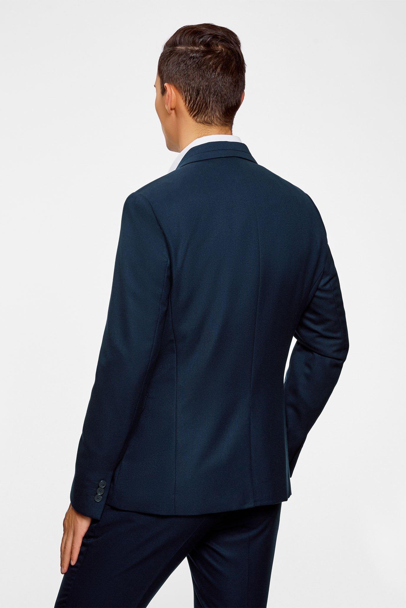 Купить Мужской синий пиджак Oodji Oodji 2L420203M/47080N/7900N – Киев, Украина. Цены в интернет магазине MD Fashion