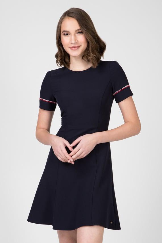 Женское темно-синее платье ANGELA