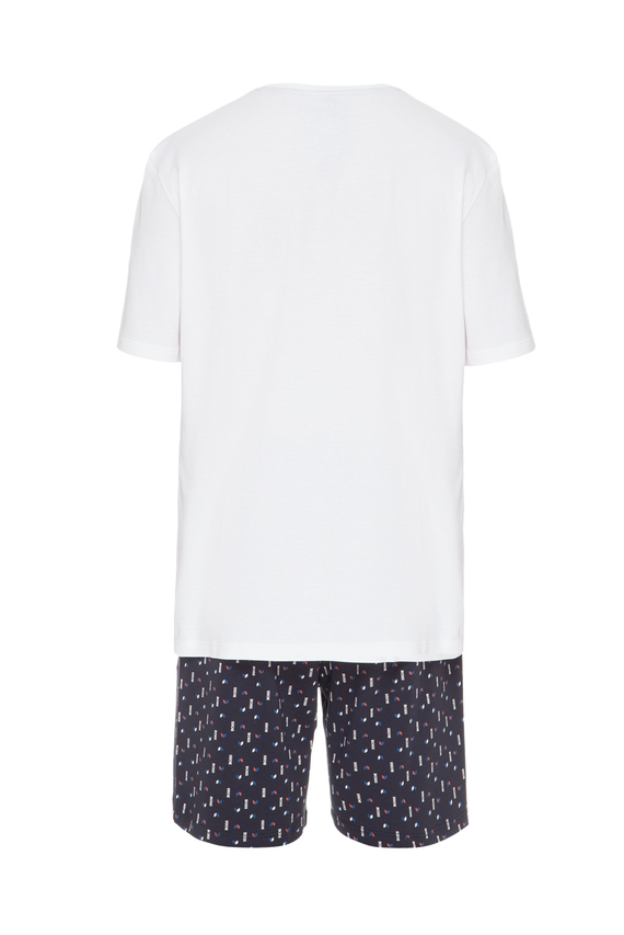Мужская пижама (футболка, шорты)
