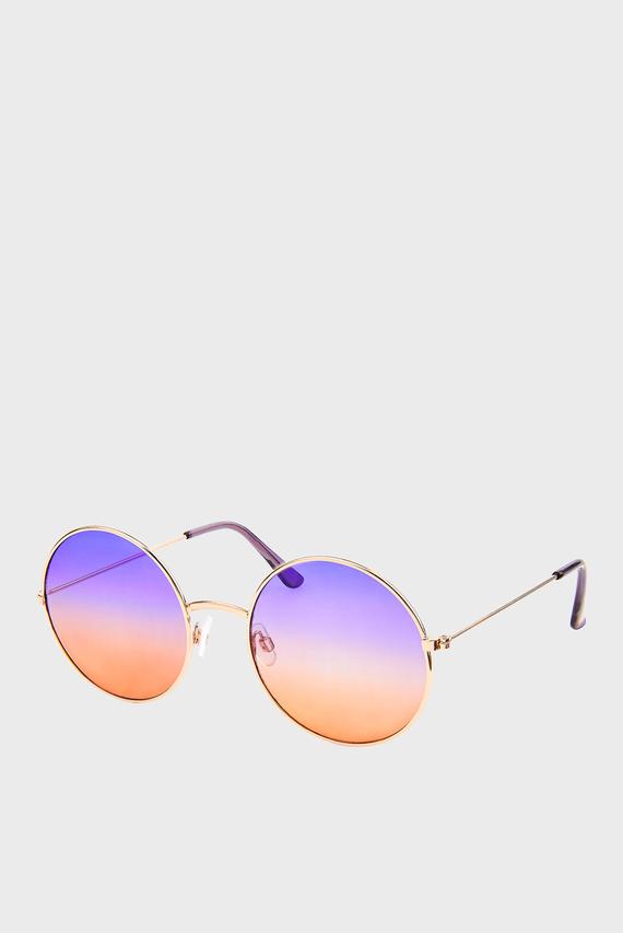 Женские солнцезащитные очки roomy round