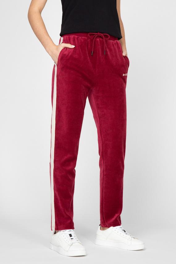 Женские бордовые спортивные брюки UFLB-PANSHIN