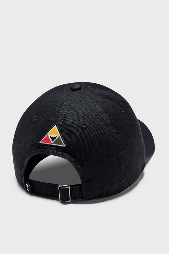 Черная кепка UA Project Rock Cotton Cap