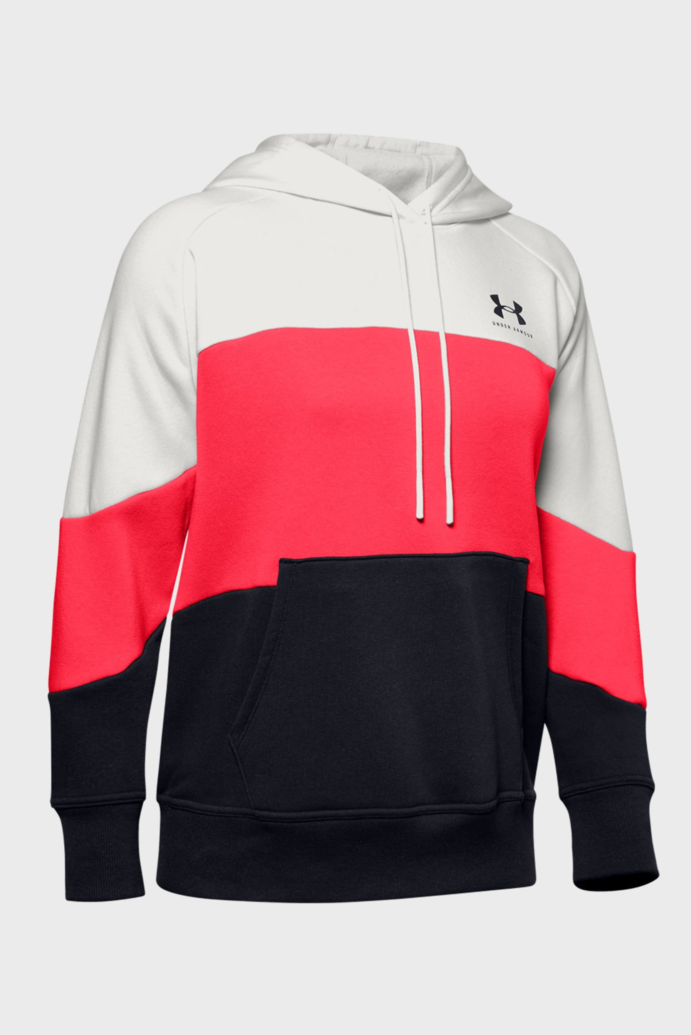 Женское худи Rival Fleece Color block Hoodie Under Armour