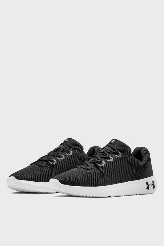 Мужские черные кроссовки UA Ripple 2.0