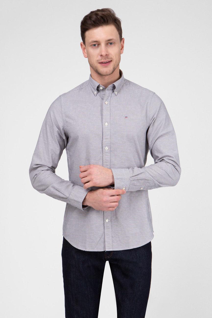 Мужская рубашка с узором THE OXFORD