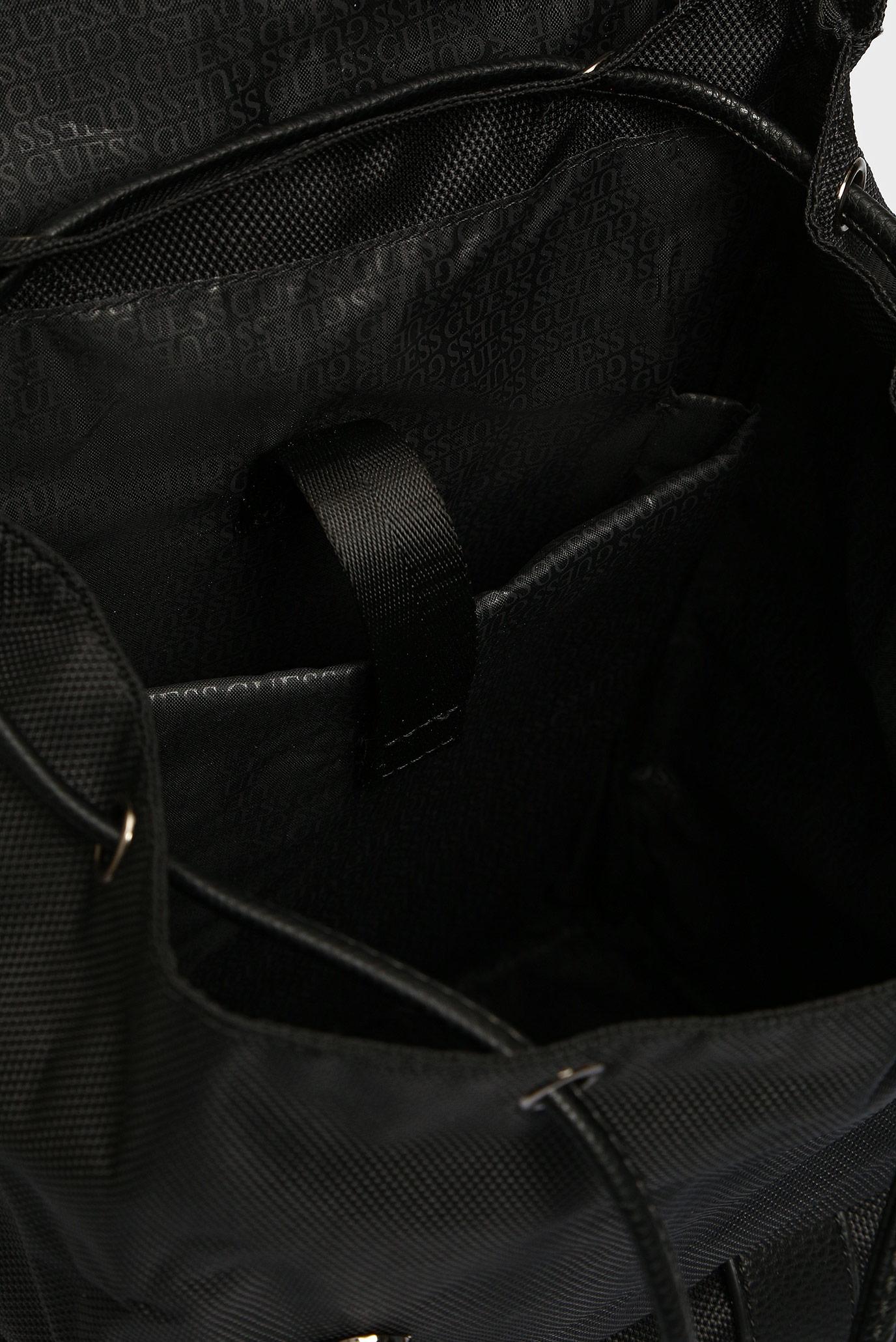 Купить Мужской черный рюкзак  NEW PHIL BACKPACK Guess Guess HM6734POL93 – Киев, Украина. Цены в интернет магазине MD Fashion