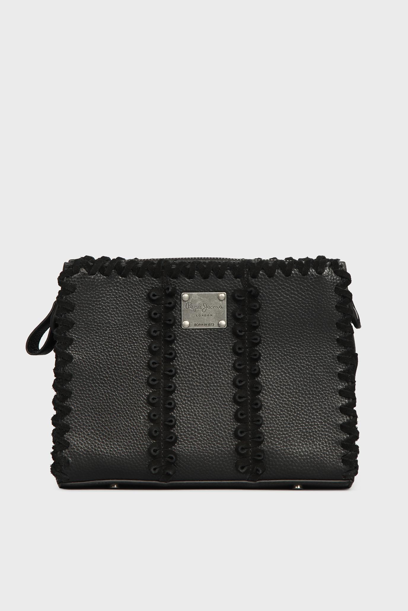 79c4bef753d7 Купить Женская черная сумка через плечо Pepe Jeans Pepe Jeans PL030718 –  Киев, Украина. Цены в интернет ...