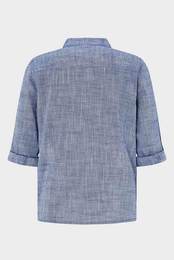 Детская голубая рубашка NOAH TEXTURED GRANDA
