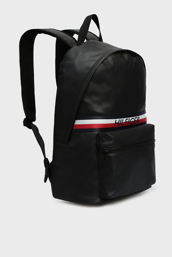 Мужской черный рюкзак URBAN PU BACKPACK