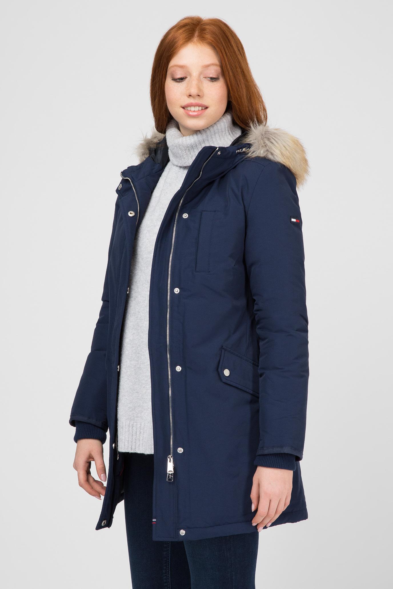 Купить Женская синяя пуховая парка Tommy Hilfiger Tommy Hilfiger DW0DW05165 – Киев, Украина. Цены в интернет магазине MD Fashion