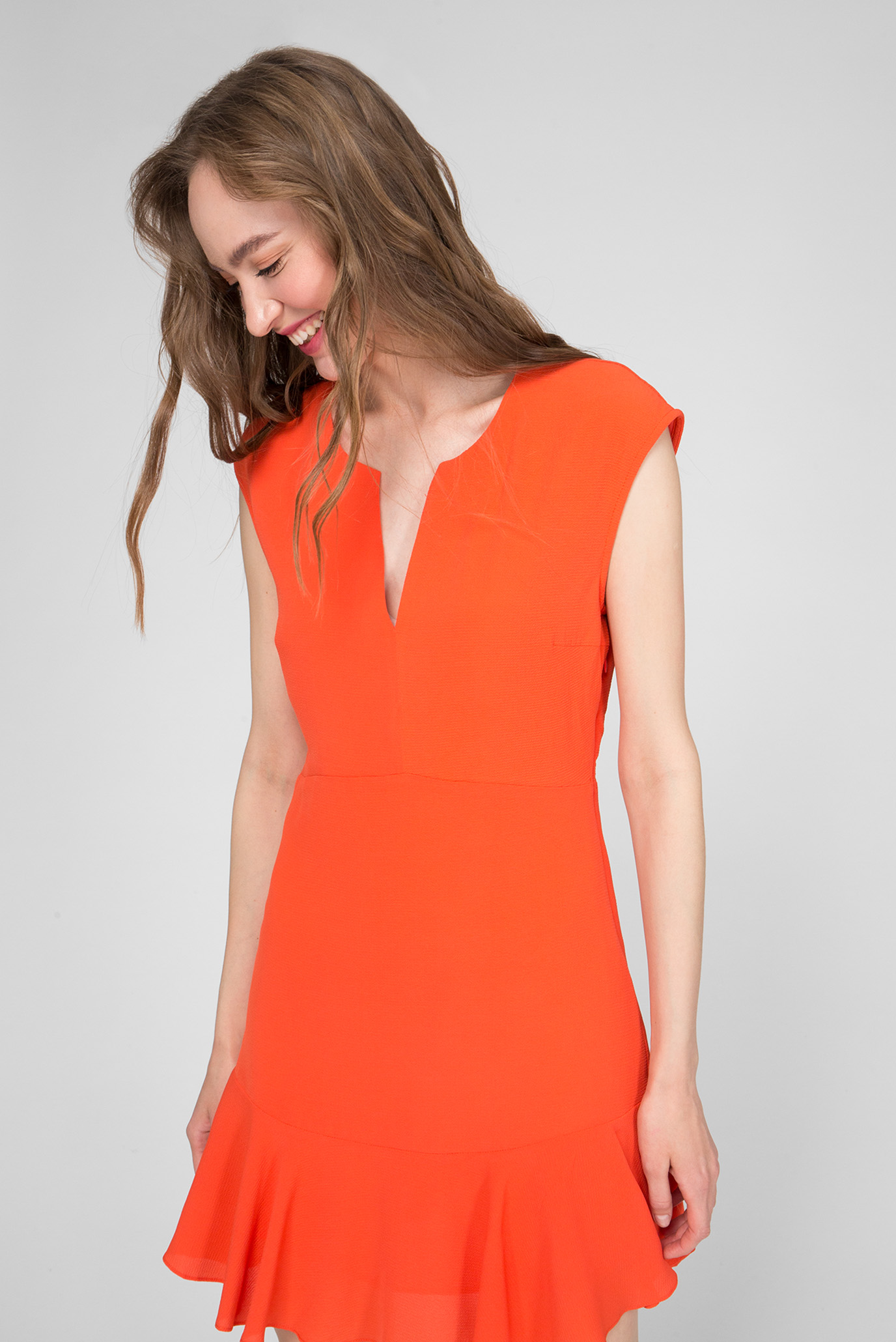 Женское красное платье KAILA Pepe Jeans